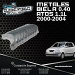 METALES BIELA 0.40 ATOS 1.1L
