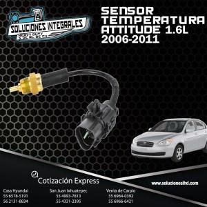 SENSOR TEMPERATURA ATTITUDE 1.6L 06/11
