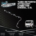 TUBO RETORNO INYECCION CABSTAR 2.5L DIESEL