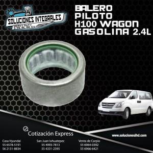 BALERO PILOTO H100 WAGON GASOLINA 2.4L
