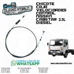 CHICOTE CAJA VELOCIDADES CONTROL CABSTAR 2.5L DIESEL