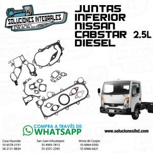 JUNTAS INFERIOR NISSAN CABSTAR 2.5L DIESEL