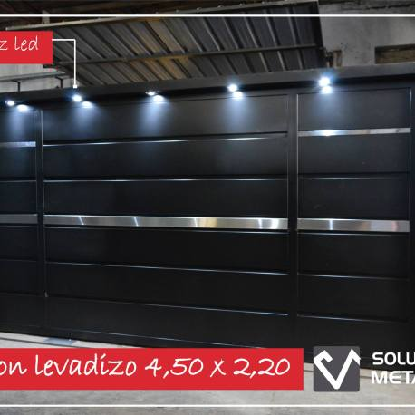 Levadizo con luces led