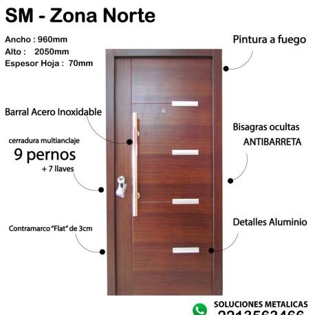 Puerta Zona Norte 2