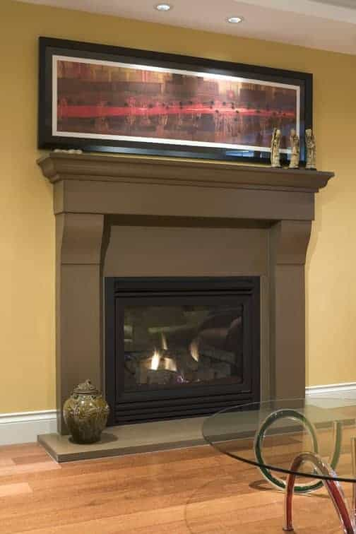 Cornice  Solus Decor concrete transitional mantel