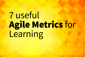 7 useful agile metrics for learning
