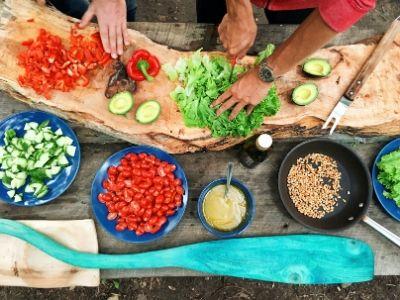 food preparation preparação comida