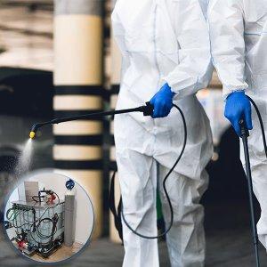ozone street cleaning system limpeza urbana mobiliário ozono