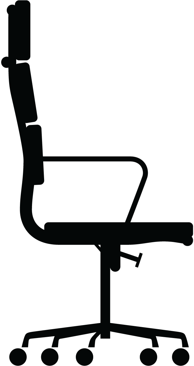 eames alu chair soft pad ea 219