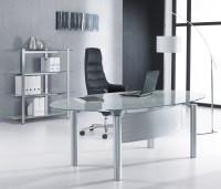 Glass Office Desks | Executive Glass Desks | Solutions 4 ...