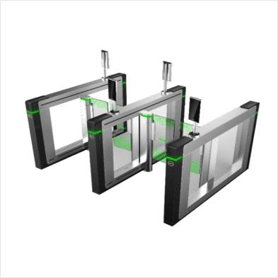 Portique pour contrôleur d'accès par reconnaissance faciale et température corporelle Dahua - portique