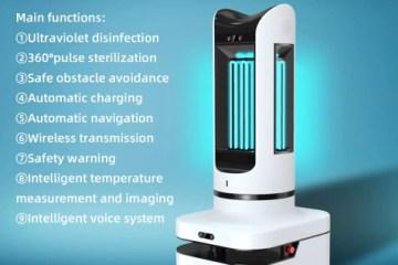 Robot de stérilisation autonome
