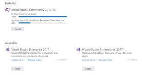 NET Build Server using Visual Studio Community 2017 – Solutions by