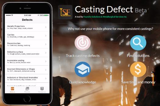 casting defect app