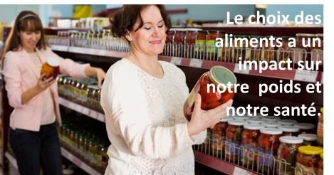 Lire les étiquettes nutritionnelles sur les produits alimentaire