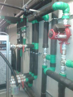 Γεωθερμικής αντλίας με κολεκτέρ