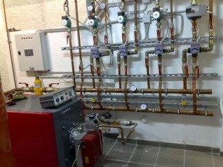 Εγκατάσταση λεβητοστασίου με αυτοματισμό Siemens