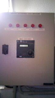 Κατασκευή πίνακας αυτοματισμού με αντιστάθμιση Siemens RVA 46.531 /101