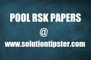 week 12 pool rsk papers