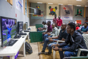 football and pool betting in Nigera