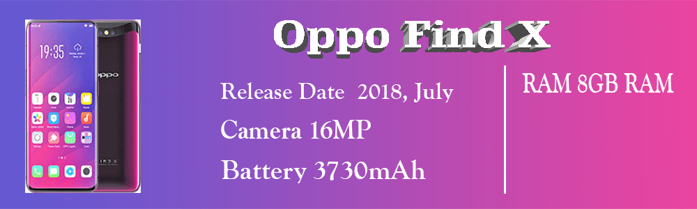 Oppo Find X Specification Price in Pakistan