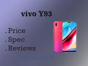 VIVO Y93sPrice IN USA & UAE | Full Phone Specification