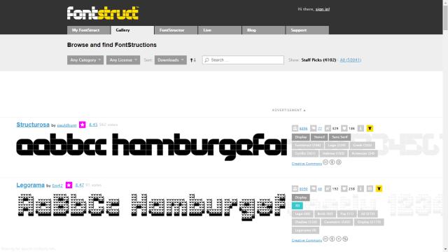 FontStruct