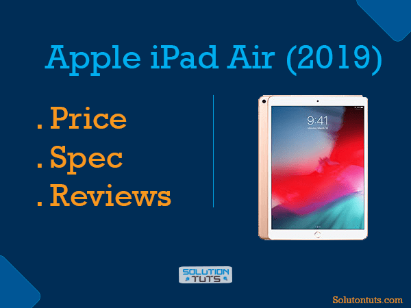 Apple iPad Air (2019) Full Spec & Price in USA & UAE