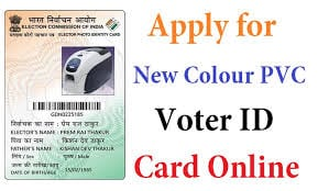 Voter id card online form