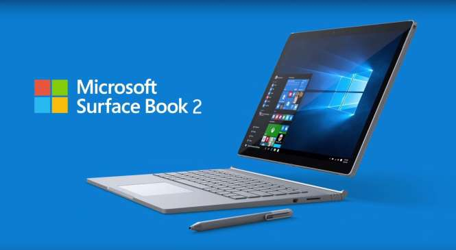 Microsoft Surface Book 2 Laptop to soon debut in India 2018