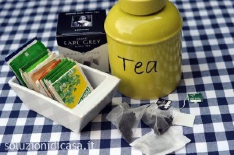 tè per profumare