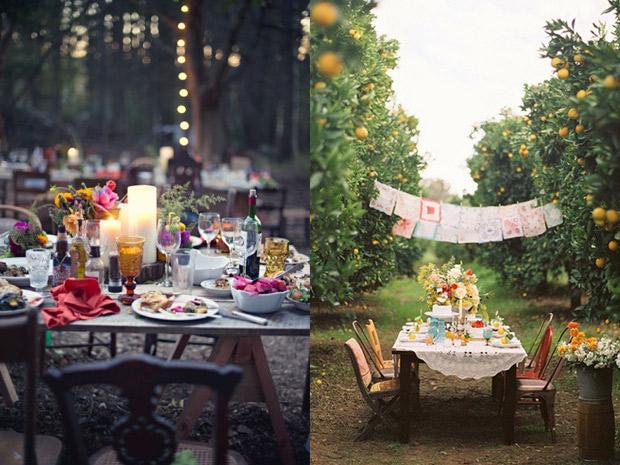 Come organizzare una festa in giardino