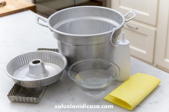 Alluminio come pulirlo evitare che si annerisca