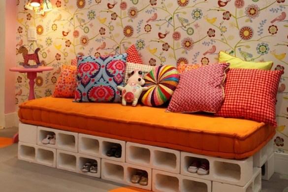 divano di mattoni