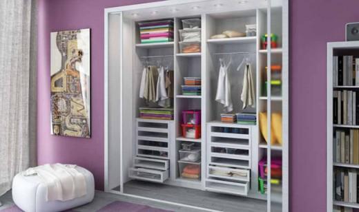 trucchi per organizzare il guardaroba - soluzioni di casa