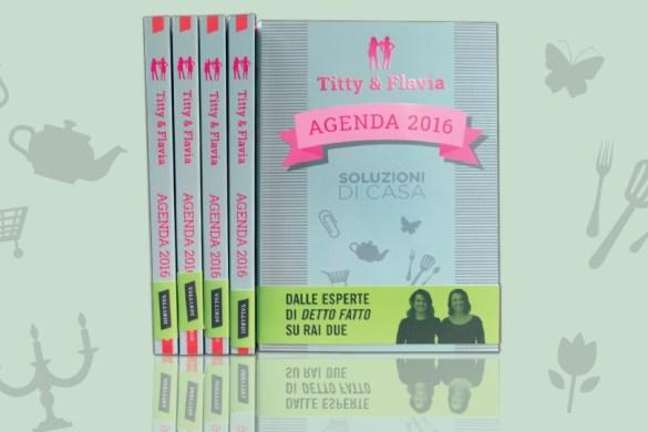 agenda 2016 di Titty & Flavia