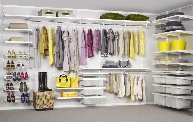 Come Organizzare Un Armadio.Come Organizzare La Cabina Armadio Soluzioni Di Casa