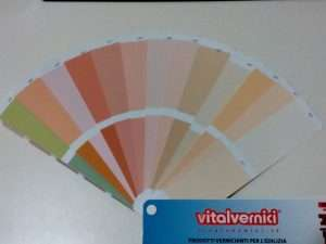 Mazzetta colori Vitalvernici