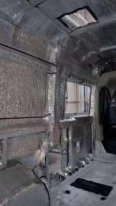 Allestimento camper con PE accoppiato con alluminio puro