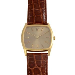 Swiss Mens Rolex Cellini Wrist Watch