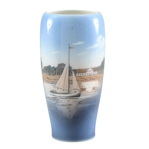 Danish Porcelain Vase by Royal Copenhagen