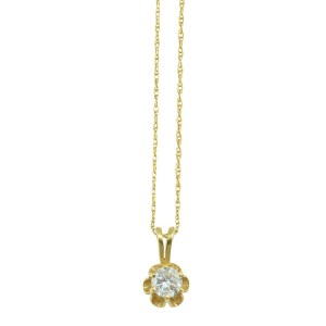 0.40 Carat Diamond Pendant