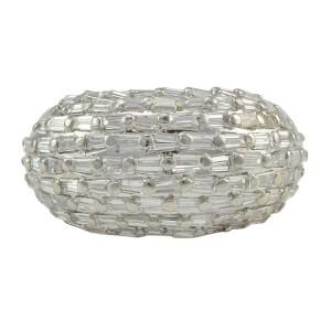 1.66 CTW Diamond Platinum Dome Ring