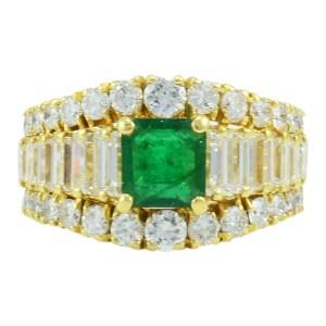 emerald 18K ring