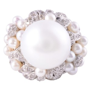 South Seas pearl ring