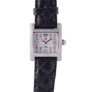 Michele diamond wrist watch