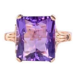 7.50 Carats Amethyst Ring