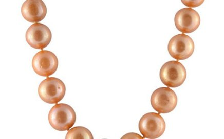 "18"" Golden Pearl Necklace"