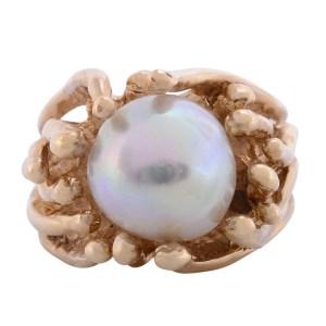 pearl custom ring