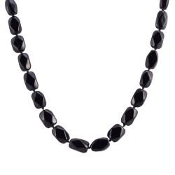 Black Onyx Bead Necklace